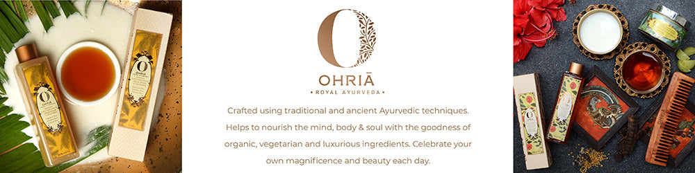 Shop for luxurious, ayurvedic and 100% toxin-free products from Ohria Ayurveda on SublimeLife.in.