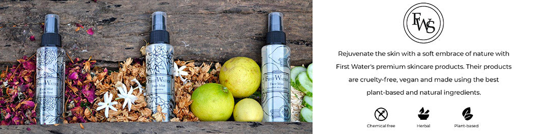 Shop India's premium herbal skincare with 100% plant based and natural ingredients from First Water Solutions on SublimeLife.in.