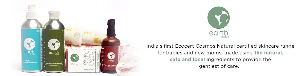 Shop for Earth Baby products online: India's first Ecocert brand for moms and babies on SublimeLife.in.