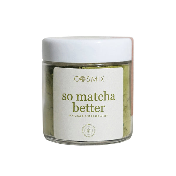 This is an image of Cosmix So Matcha Better on www.sublimelife.in