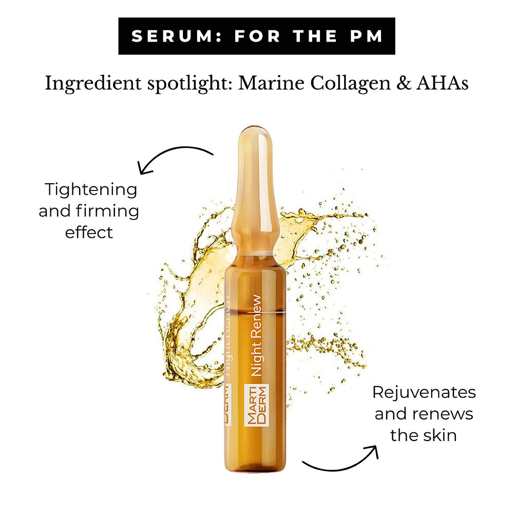 This is an image of Martiderm Ampoule for Oily Skin.