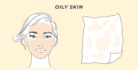 This the test result of the skin test for Oily skin