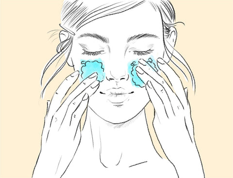 This is the step 1 of the skin test to identify your skin type. Wash your face with a cleanser in the morning