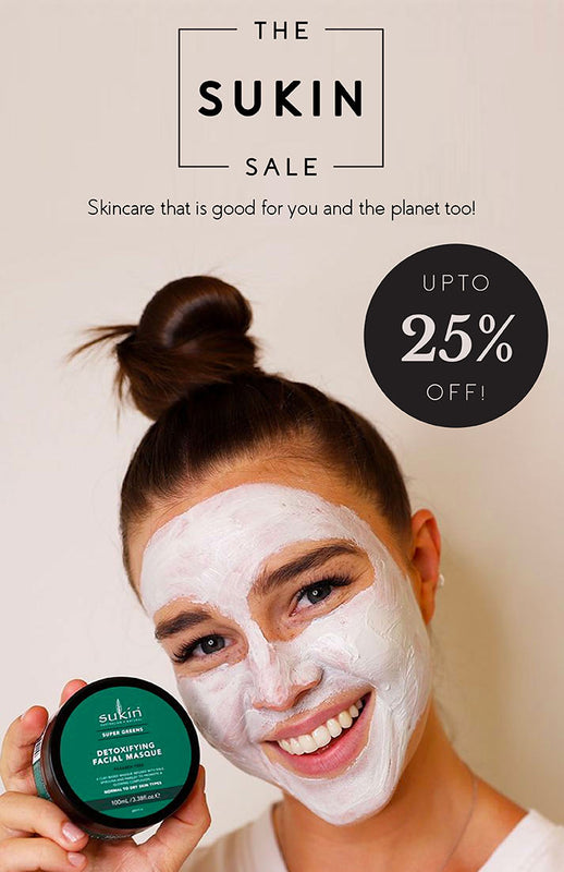 Shop natural and vegan Australian skincare products upto 25% off from Sukin on SublimeLife.in.