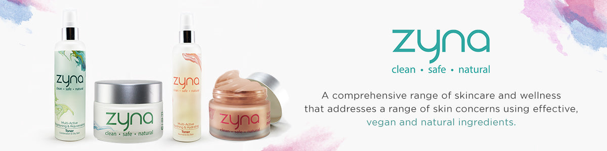 Shop the best clean, natural and safe products such as toners, clay masks, body and face creams from Zyna on SublimeLife.in.