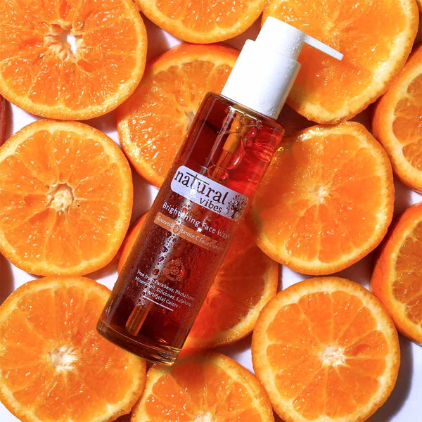 Ayurvedic Vitamin C Brightening Face Wash