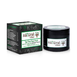 Ayurvedic Tea Tree and Activated Charcoal Face Pack - Sublime Life