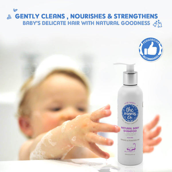 Natural Baby Shampoo - Sublime Life