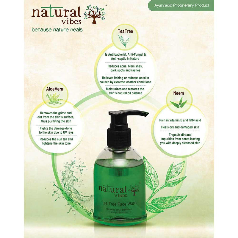 Ayurvedic Tea Tree Face Wash