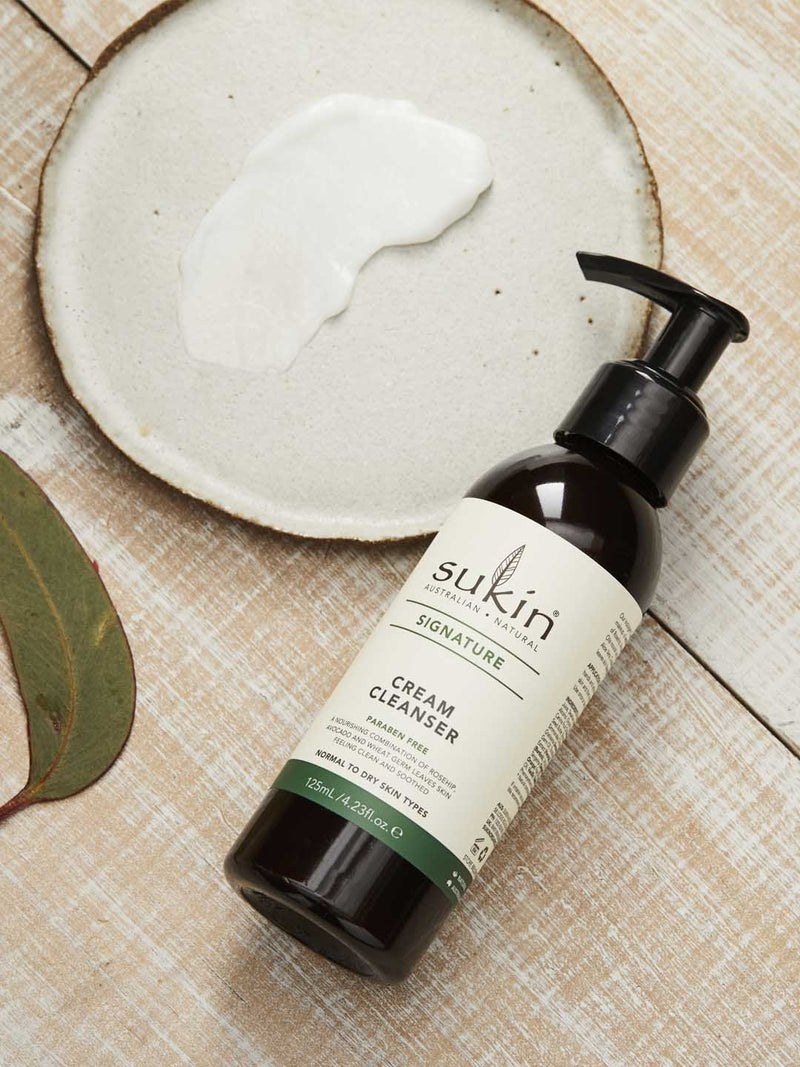 Shop Cream Cleanser from Sukin on SublimeLife.in. Best for  removing makeup, oil and dirt build up on the skin.