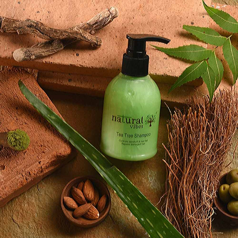 Ayurvedic Tea Tree Shampoo