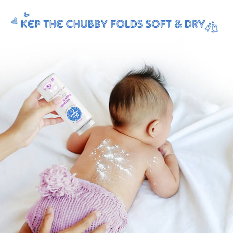 Natural Talc Free Baby Powder - Sublime Life