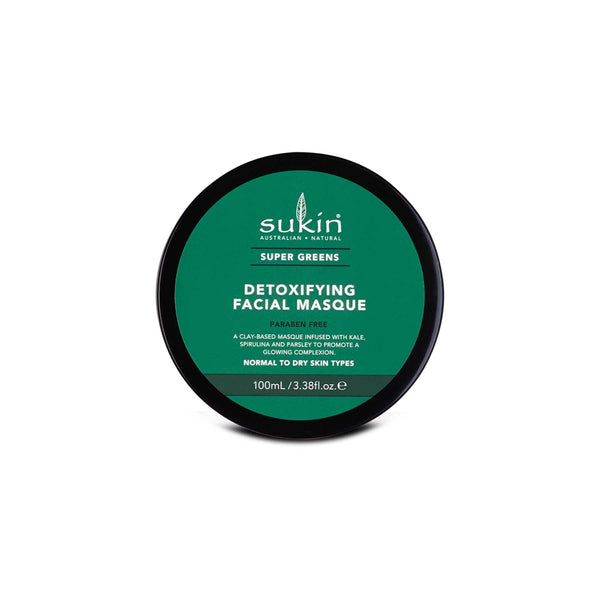 Shop Super Greens Detoxifying Clay Masque from Sukin on SublimeLife.in. Best for minimising fine lines and a youthful skin.