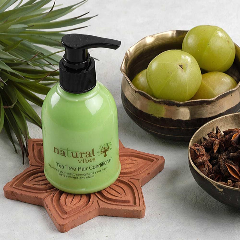 Natural Vibes Ayurvedic Tea Tree Hair Conditioner