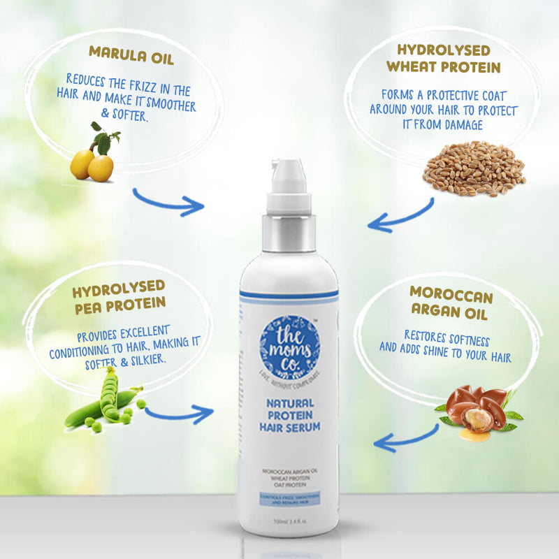 Natural Protein Hair Serum - Sublime Life