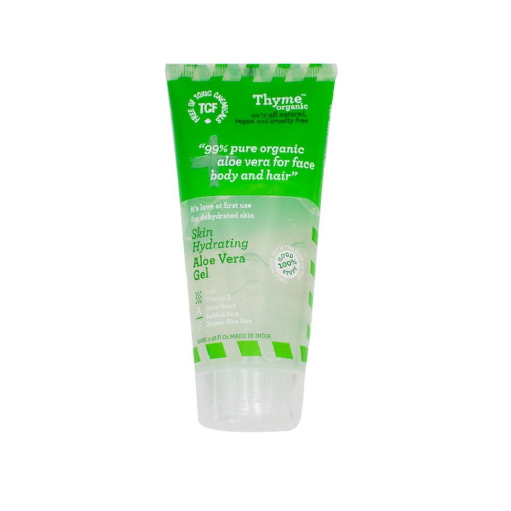This is an image of Thyme Organic Aloe Vera Gel on www.sublimelife.in