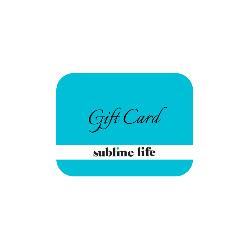 Gift card - Sublime Life