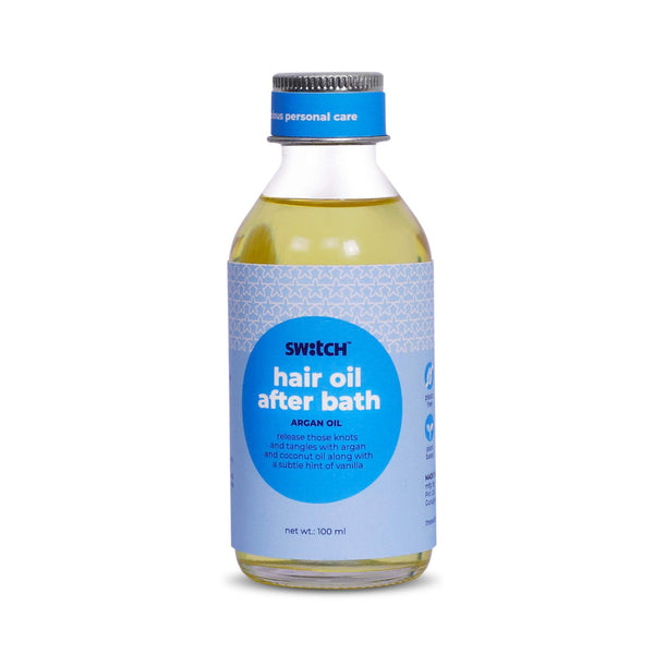 Shop After Bath Hair Oil from The Switch Fix on SublimeLife.in. Best for having  non-greasy hair.