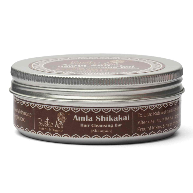 Shop Amala Shikakai Hair Cleansing Bar from Rustic Art on SublimeLife.in. Best for nourishing your hair post oil massage.