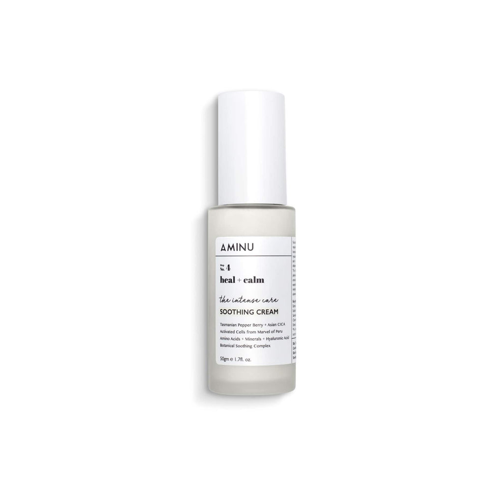 This is an image  of Aminu Intense Care Soothing Cream on www.sublimelife.in