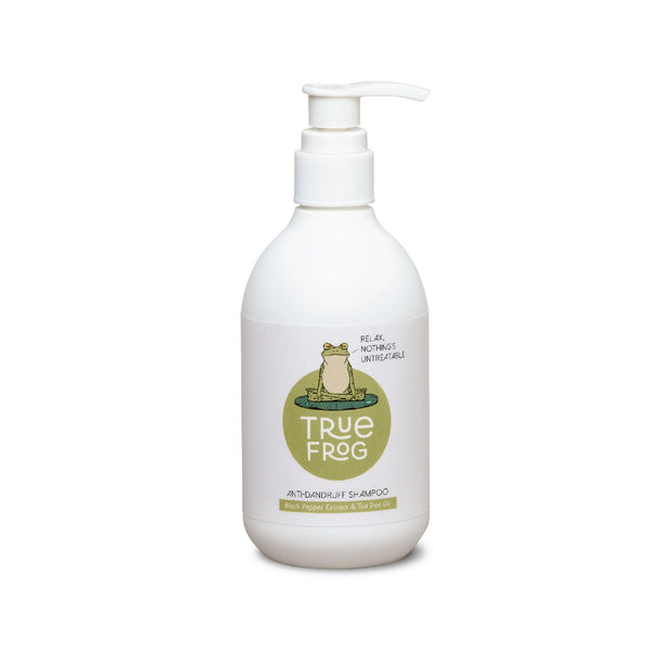 Shop Anti-Dandruff Shampoo from True Frog on SublimeLife.in. Best for getting rid of all the dandruff and for a clean scalp.