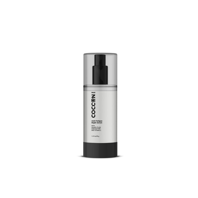 Shop Man Anti-Fatigue Night Serum from Coccoon on SublimeLife.in. Best for waking up with less signs of stress.