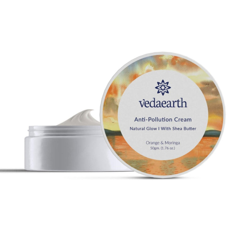 Anti-Pollution Cream Natural Glow With Shea Butter
