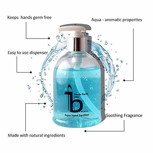 [Free sample] Aqua Hand Sanitizer 300 ml