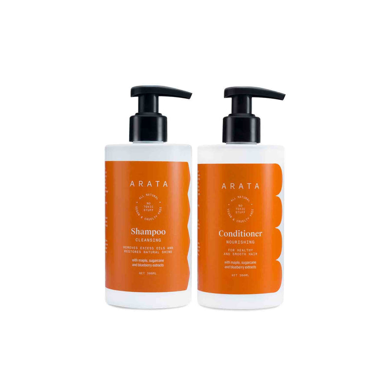 Shop Arata Happy Hair Duo from Sublime Life for oily scalps.