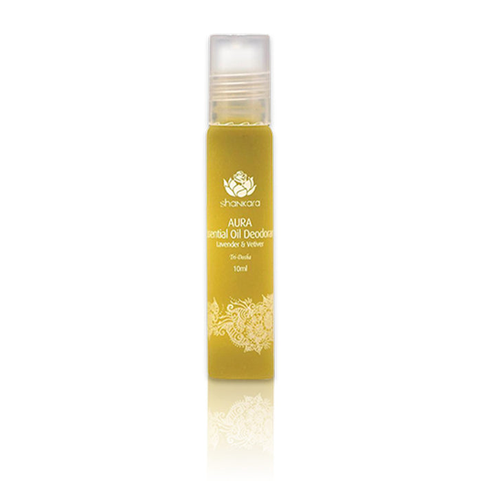 This is a roll-on essential oil Natural Deodorant aluminium free from the brand Shankara.