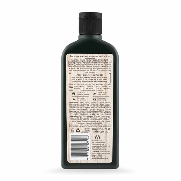 Shop Akin's Avocado & Calendula Daily Shine Silicon Free Conditioner from Sublime Life. Helps in smoothening your hair.