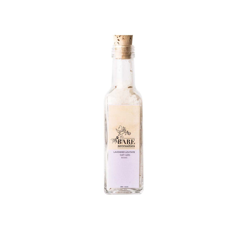 Shop Lavender Levitate Bath Salts from Bare Necessities on SublimeLife.in. Best for drawing out toxins and lower stress.