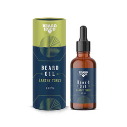 Shop BeardHood Earthy Tones Beard Oil from Sublime Life for nourished beard hair.
