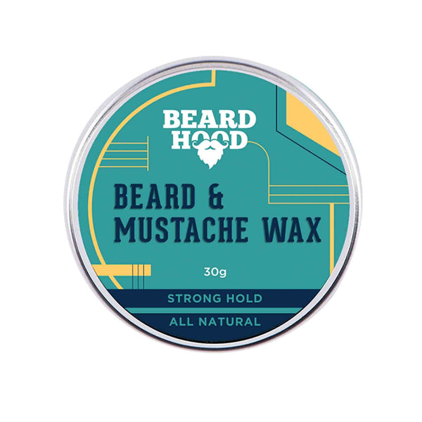 Shop Beardhood All Natural Mustache And Beard Wax For Strong Hold, Natural Musky Scent from Sublime Life. Suitable for dry, oily and combination skin.