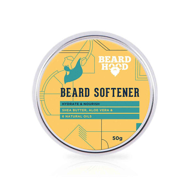 Shop Beardhood Beard Softener For Men - Shea Butter and 6 Natural Oils from Sublime Life. Helps in softening your beard hair.