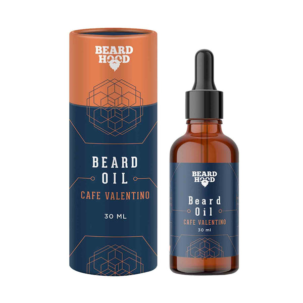 Shop Beardhood Café Valentino Beard Oil from Sublime Life. Helps in nourishing your beard oil.