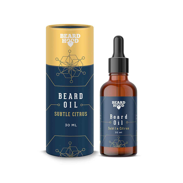 Shop Beardhood Suble Citrus Beard Oil from Sublime Life. Helps in promoting cell growth.