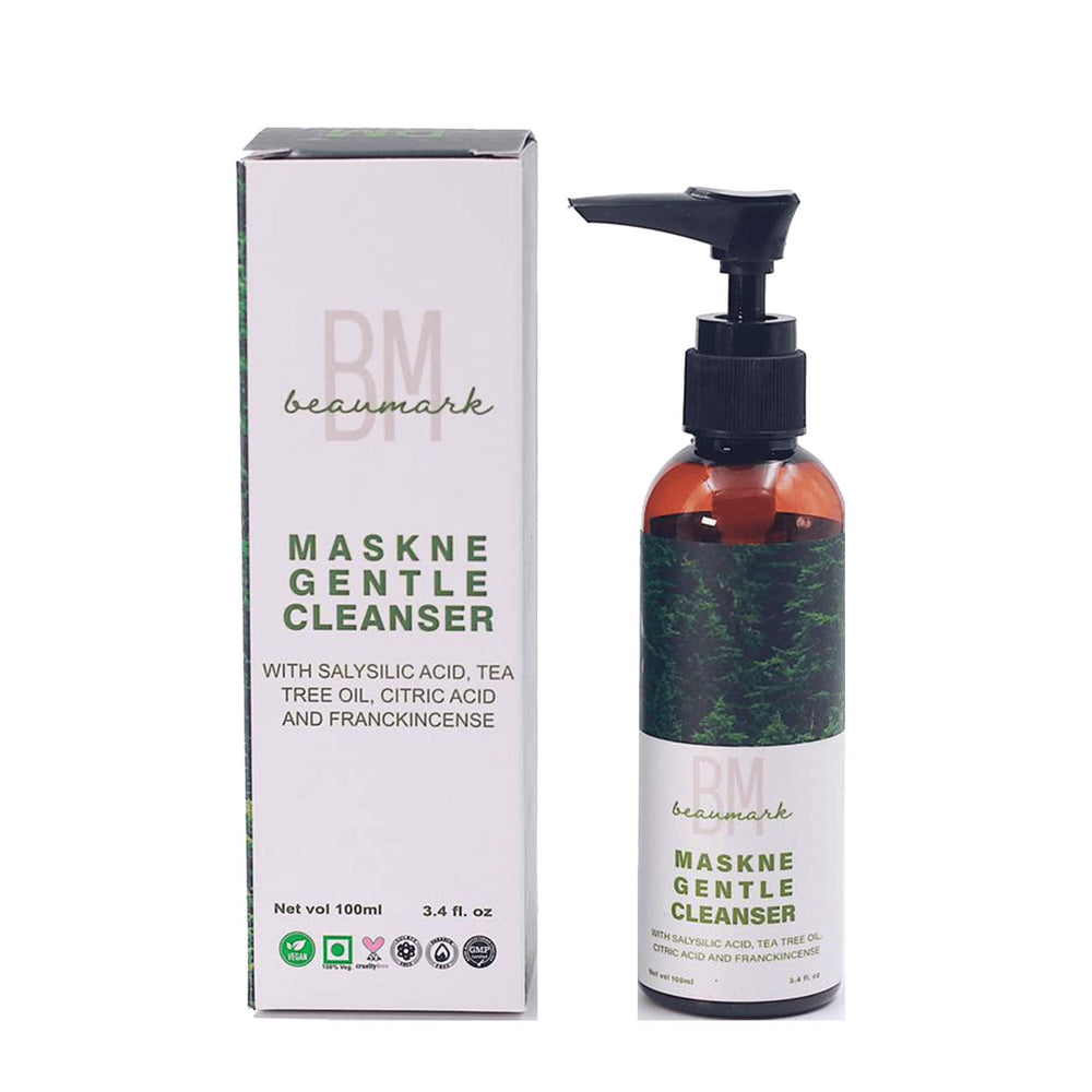 this is an image of the beaumark maskne gentle cleanser on www.sublimelife.in