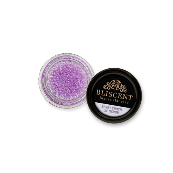 Shop Berry Crush Lip Scrub from Bliscent on SublimeLife.in. Best for moisturising and heading dry and chapped lips.
