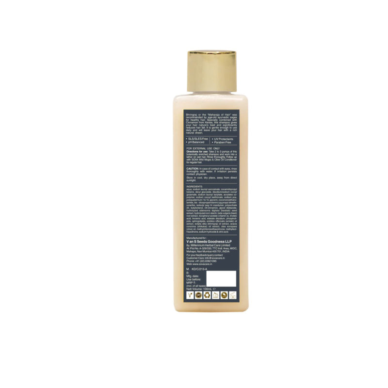 Shop Bhringraj & Kerala Cinnamon Shampoo from Sova on SublimeLife.in. Best for reducing hair fall and enhances hair texture.