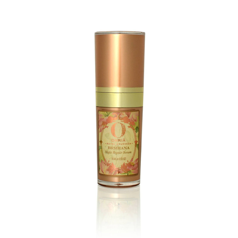 Shop Brmhana Night Repair Serum from Ohria Ayurveda on SublimeLife.in. Best for making skin soft, supple and healthy.