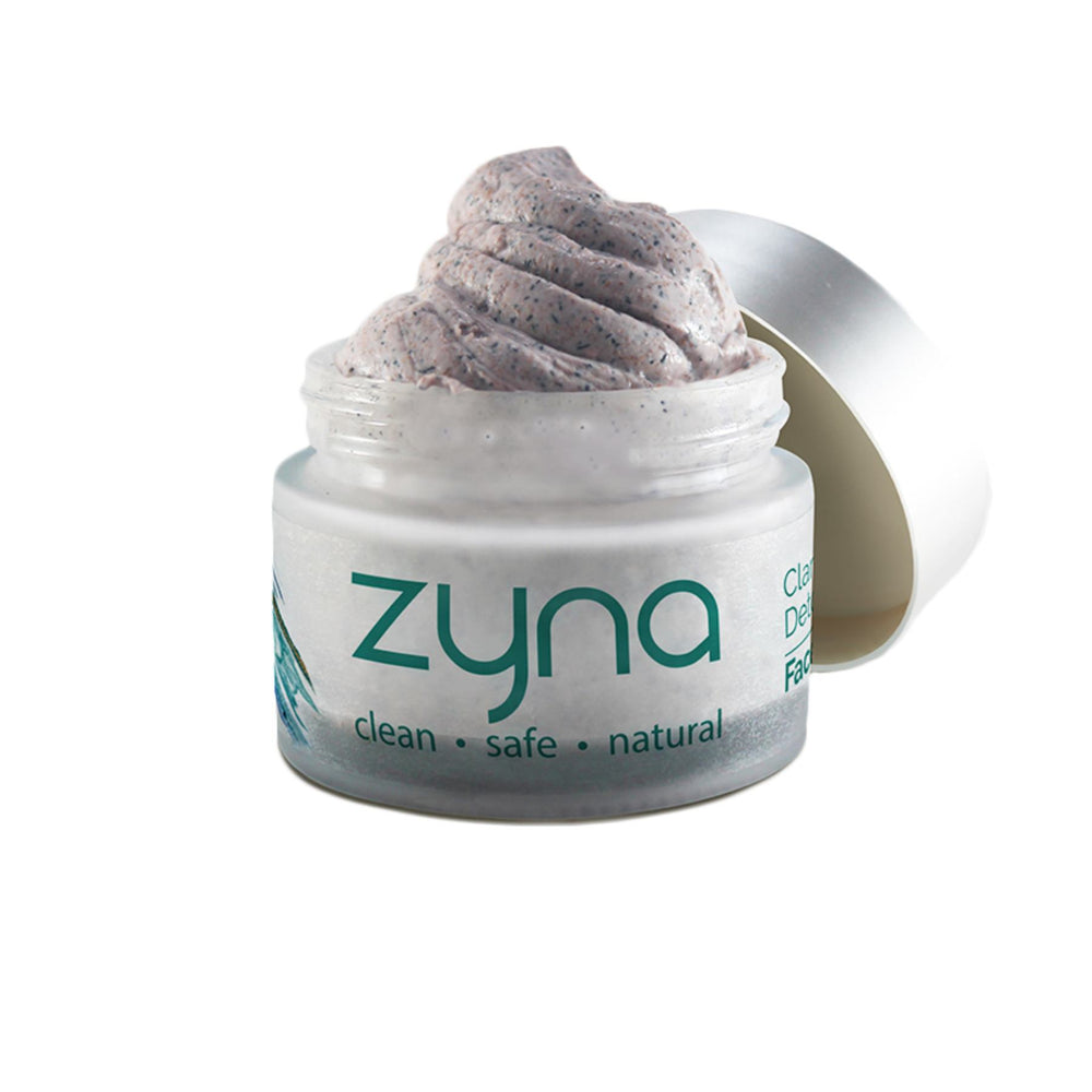 This is a image of Zyna Clarifying and Detoxifying Face Scrub on www.sublimelife.in