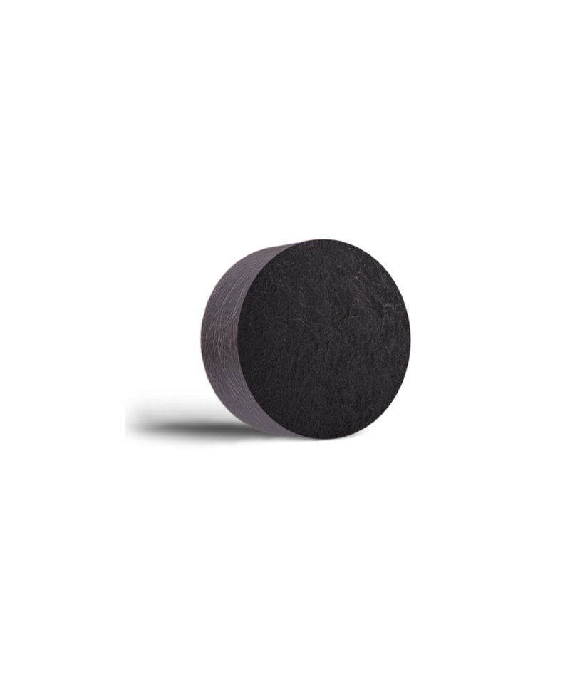 This is an image of Activated Charcoal Detox Bathing Soap Bar from Neemli Naturals on SublimeLife.in. It is made from Activated Charcoal, Tea tree essential oil and Lavender essential oil.