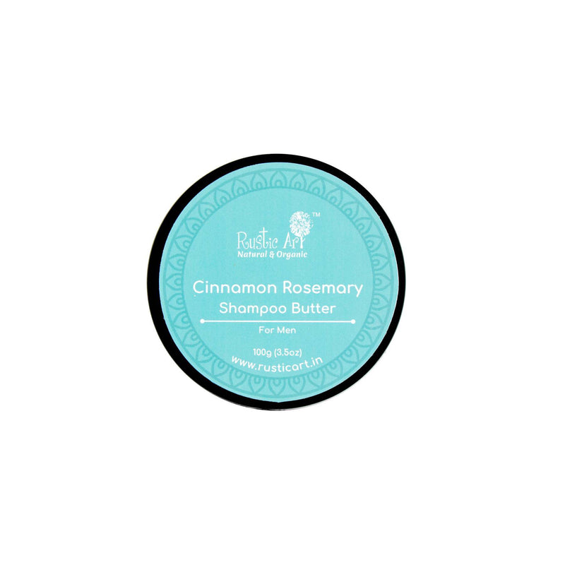 Shop Cinnamon Rosemary Shampoo Butter from Rustic Art on SublimeLife.in. Best for adding gloss and keeps your hair healthy.