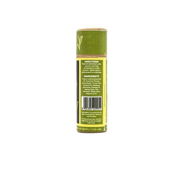 This is an image of Citrus Burst roll on Natural Deodorant from TreeWear on SublimeLife.in. This is made of Tea Tree with a twist of Lemon.