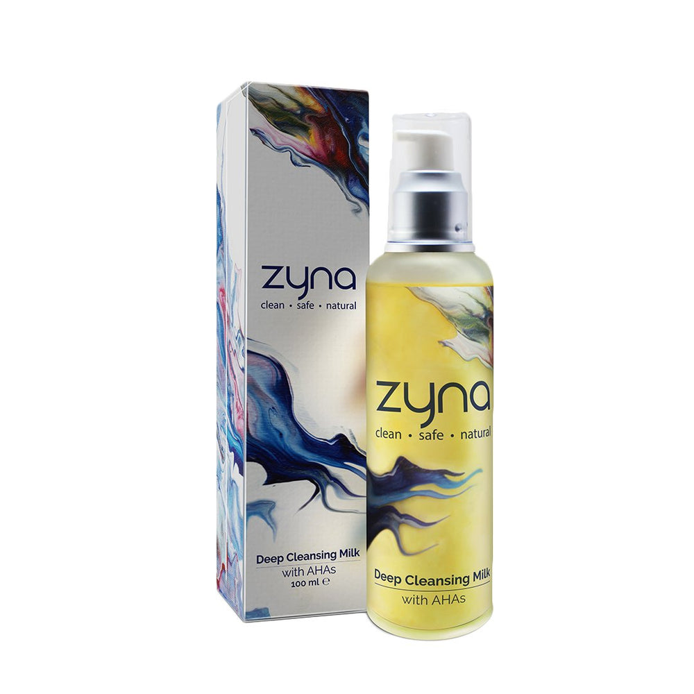 This is an image of Zyna Deep Cleansing Milk on www.sublimelife.in