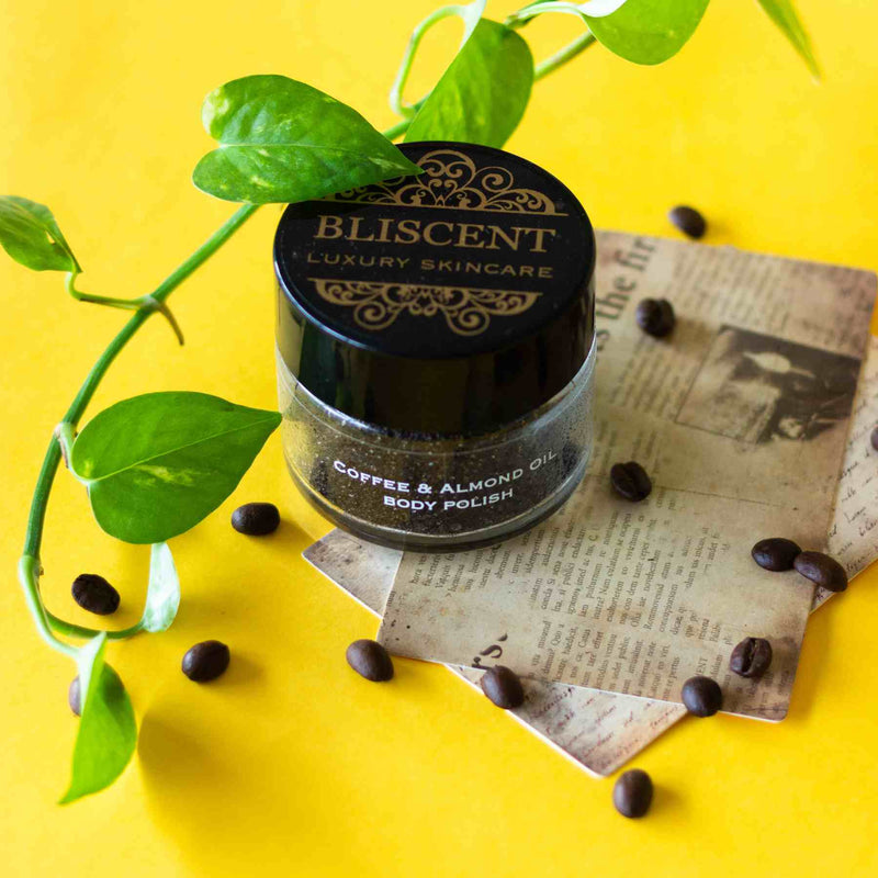Bliscent Coffee & Almond oil Body Polish