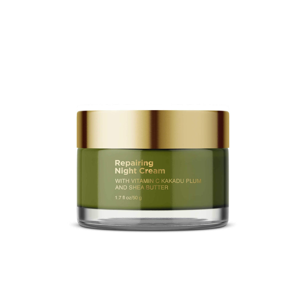 This is a image of Coccoon Repairing Night Cream With Vitamin C Kakadu Plum and Shea Butter on www.sublimelife.in