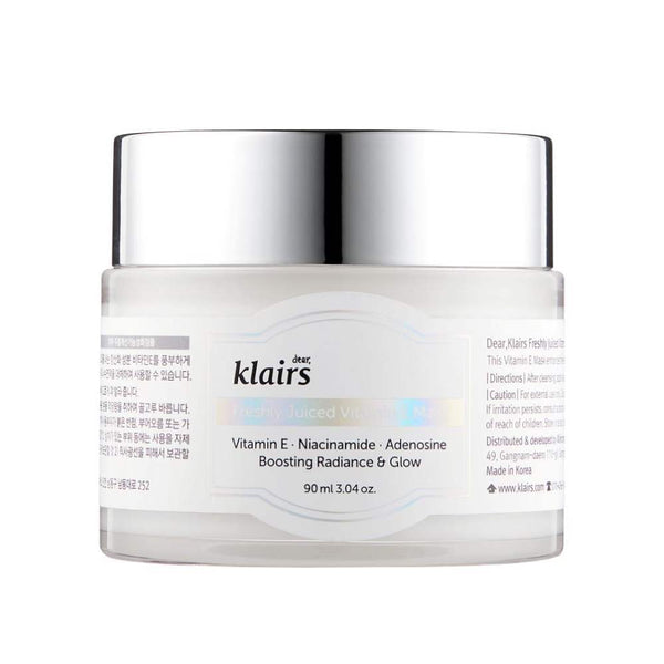 Dear, Klairs Freshly Juiced Vitamin E Mask