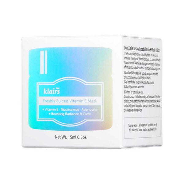 Dear, Klairs Freshly Juiced Vitamin E Mask Mini